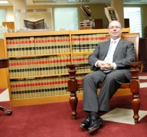 Douglas McAlarney in Library